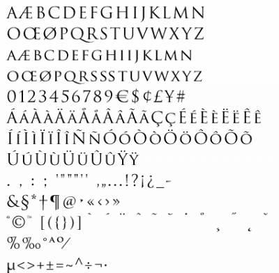 Trajan Pro Шрифт Русский